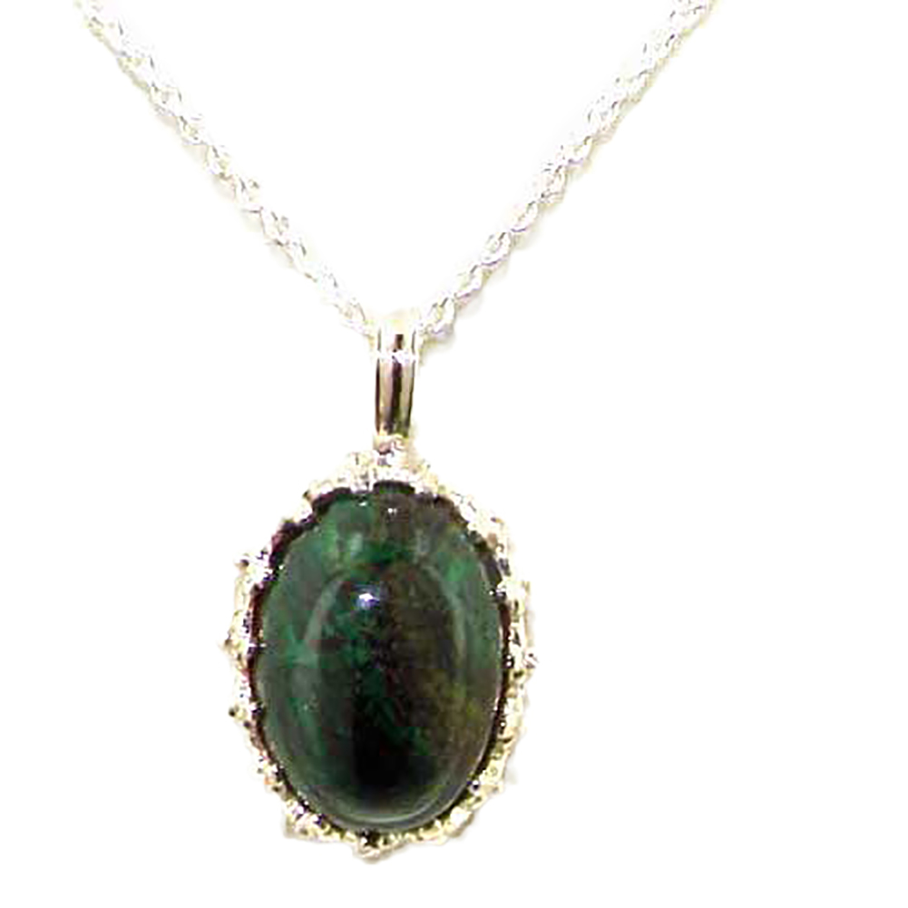 """The Great British Jeweler Luxury Ladies Solid 925 Sterling Silver Elath Large Vintage Pendant Necklace - 16"""" 18"""" or 20"""" Chain at Sears.com"""